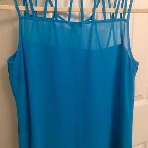 Naked Zebra Tops - Boutique sleeveless top